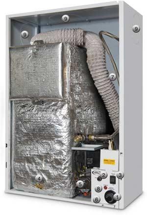 GRANT Vortex Oil Boiler wall hung